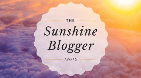 Sunshine Blogger header