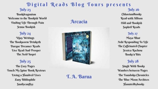 blog tour banner new aracacia