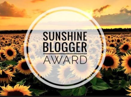Sunshine Blogger Award - Sunflowers