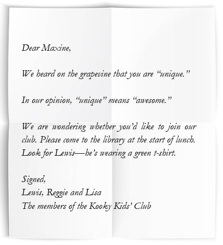 Dear Maxine