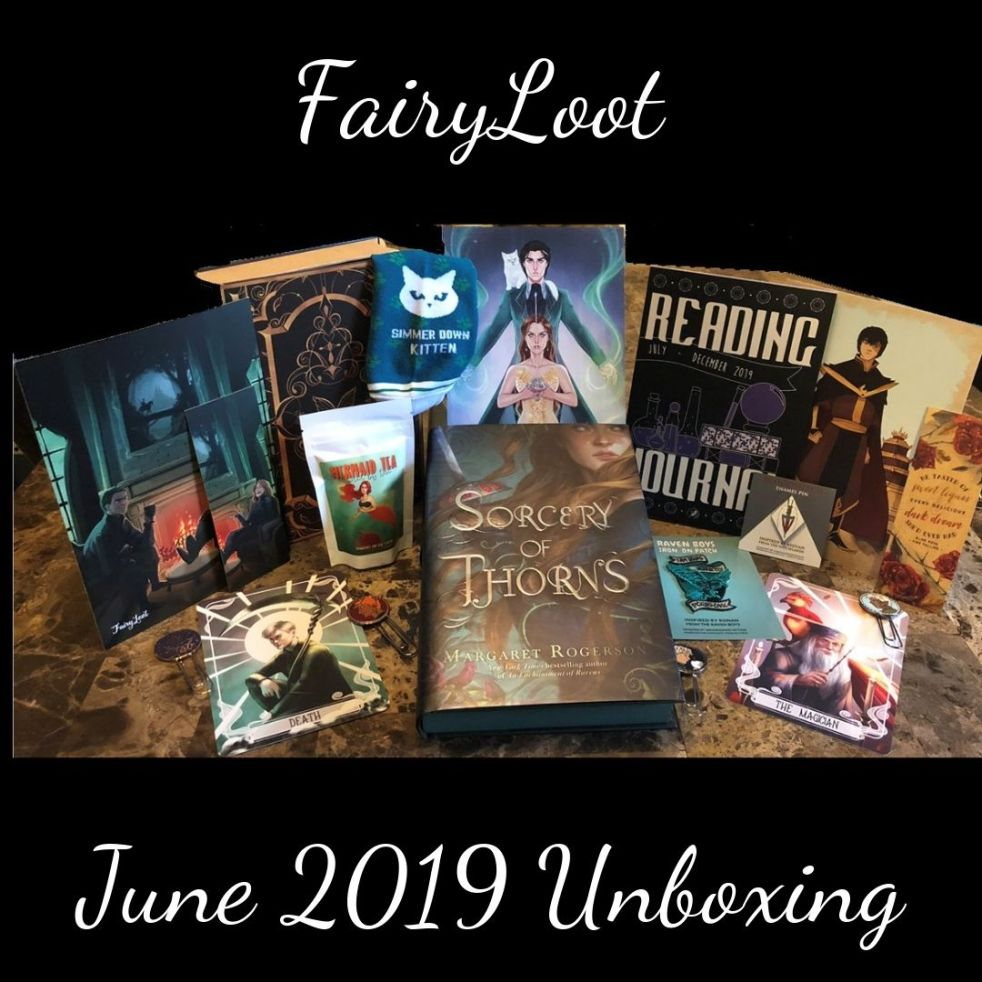 FairyLoot Unboxing June 2019