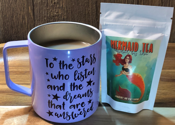 June 2019 FairyLoot - mermaid tea