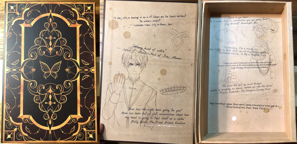 June 2019 FairyLoot - Secret book of Banter