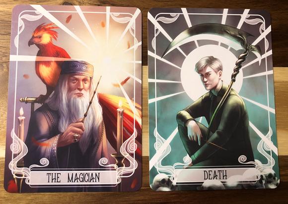 June 2019 FairyLoot - tarot cards