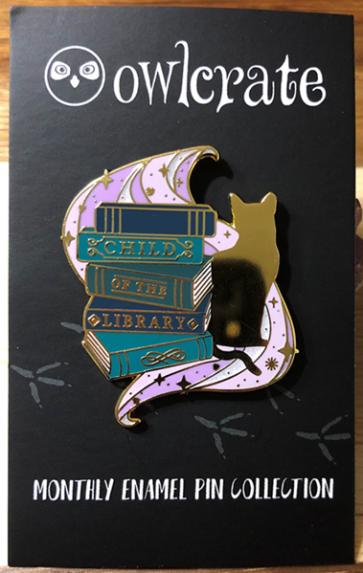 OwlCrate June 2019-Enamel pin