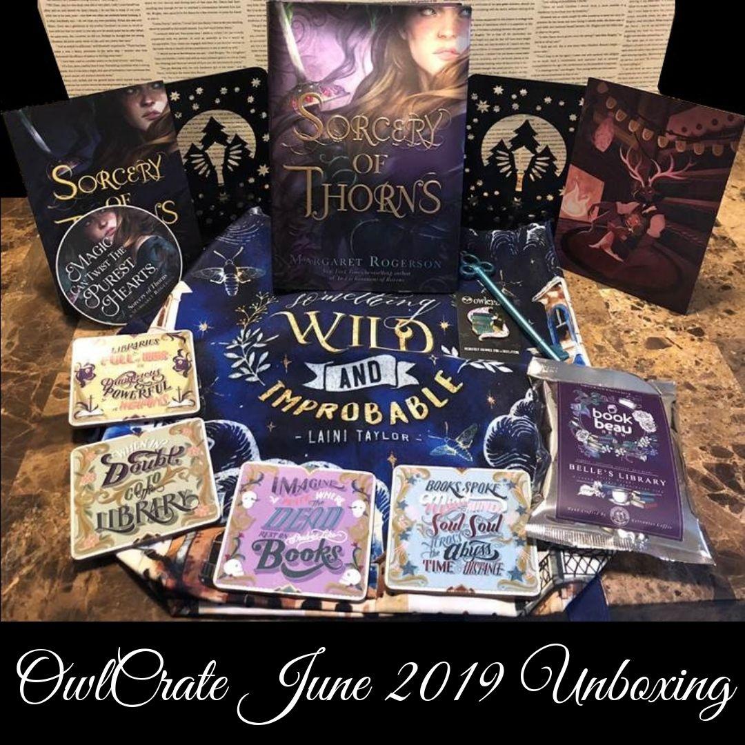 OwlCrate June 2019 Unboxing