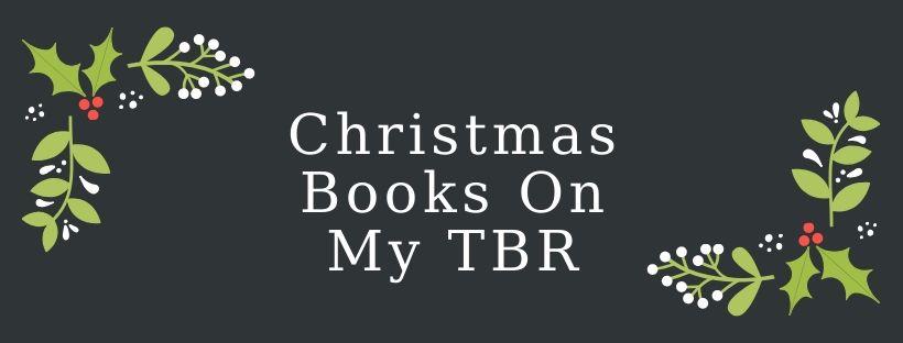 christmas books on my TBR